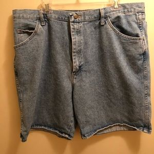 Men's Blue Jean Shorts